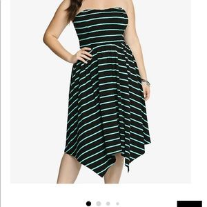 Torrid strapless dress. Perfect for any occasion.
